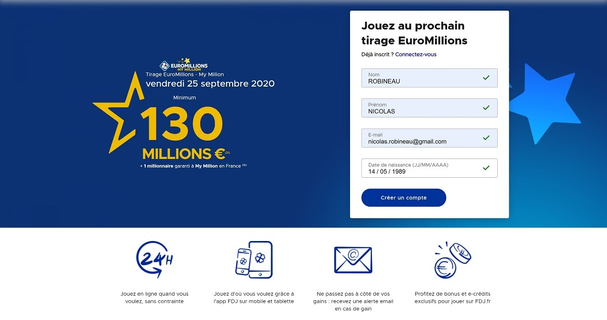 faire un million en ligne