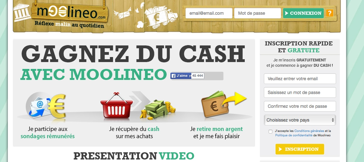 faire des sites de liste dargent