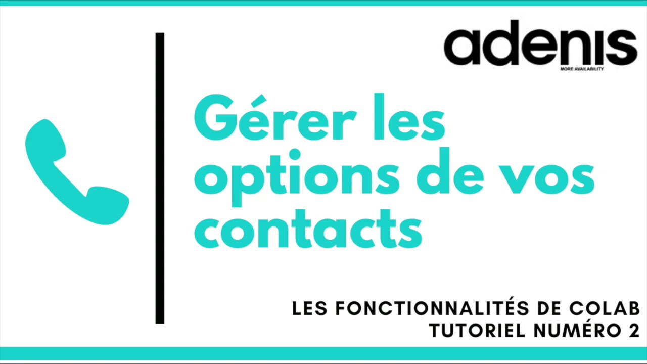 tutoriel sur les options
